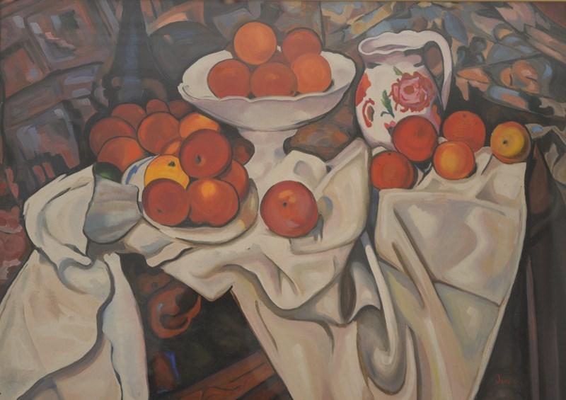 Natura Morta con mele e arance